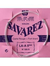 Savarez Carte Rouge LA-5ème 525R tension forte - Pack 10