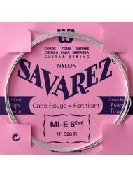 Savarez Carte Rouge MI-6ème 526R tension forte - Pack 10