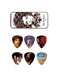 Dunlop médiators Jimi Hendrix Hear My Music PT07M medium