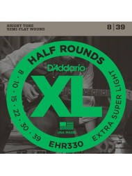 D'Addario Half Rounds EHR330 Tension Extra-super light