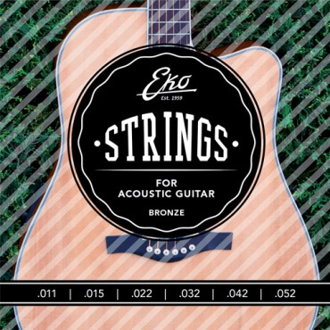 Eko Acoustic Bronze ACB1152ML medium light