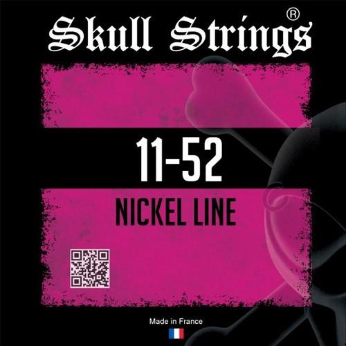 Skull Strings Nickel Line Standard SKUNSTD1152 medium