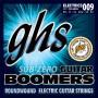 GHS Sub Zero Guitar Boomers CR-GBXL extra light