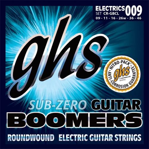 GHS Sub Zero Guitar Boomers CR-GBCL custum light