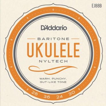 D'Addario Ukulélé baritone EJ88B