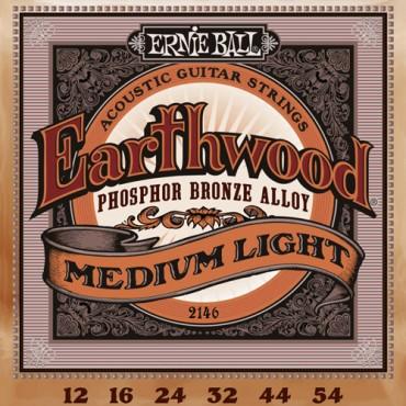 Ernie Ball Earthwood phosphore bronze 2146 medium light