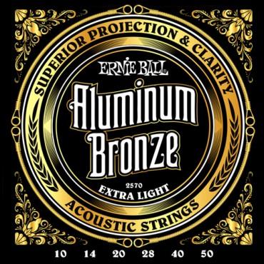 Ernie Ball aluminium bronze 2570 extra light