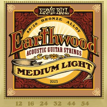 Ernie Ball Earthwood bronze 2003 medium light