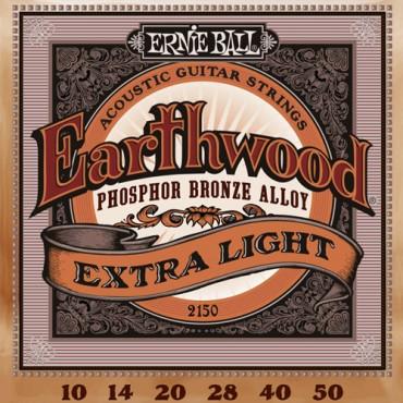 Ernie Ball Earthwood phosphore bronze 2150 extra light