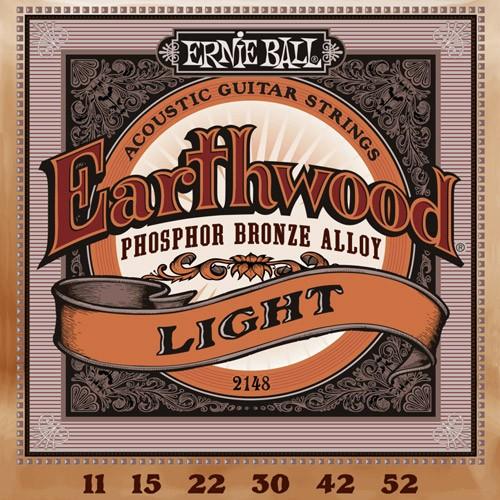 Ernie Ball Earthwood phosphore bronze 2148 light