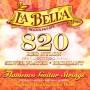 La Bella Elite Flamenco Red Nylon 820 tension normale