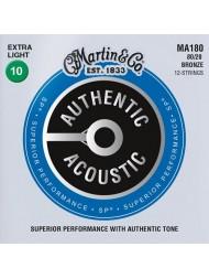 Martin Authentic SP 12 cordes MA180 extra light