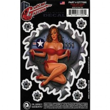 Planet Waves Tattoo Nose Art Babe GT77095