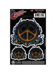 Planet Waves Tattoo Peace Guitar GT77019