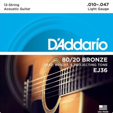 D'Addario EJ36 Tension Light
