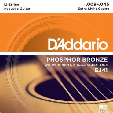 D'Addario EJ41 Tension Extra Light