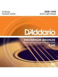 D'Addario EJ41 Tension Extra Light