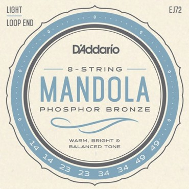 D'Addario EJ72 Light