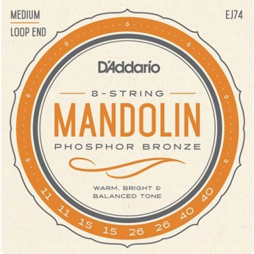 D'Addario EJ74 Tension Medium