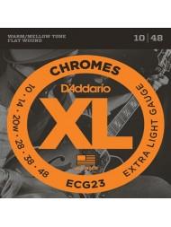 D'Addario ECG23 tension extra light