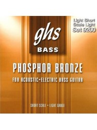 GHS basse acoustique short scale set 9200 light