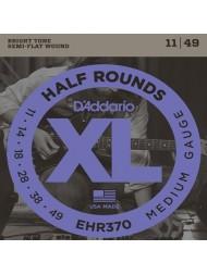 D'Addario Half Rounds EHR370 Tension Medium