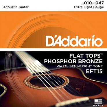 D'Addario EFT15 tension extra light