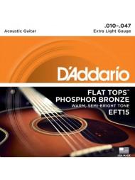 D'Addario EFT15 tension extra light