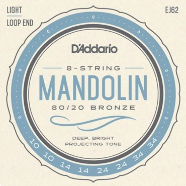 D'Addario J62 Tension Light