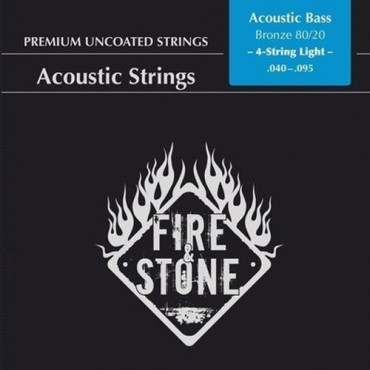 Fire'Stone Acoustic Bass Premium Uncoated light