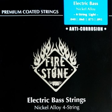 Fire'Stone Electric Bass Premium Coated light