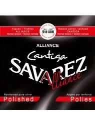 Savarez Alliance Cantiga Argent pur poli 510ARH tension normale