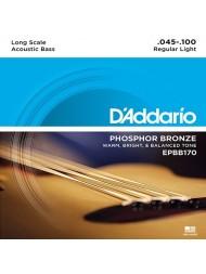 D'Addario EPBB170 tension regular light