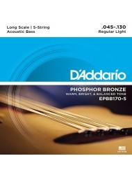 D'Addario EPBB170-5 tension regular light