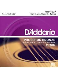 D'Addario EJ38H Nashville Tuning