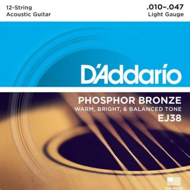 D'Addario EJ38 Tension light