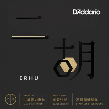 D'Addario ERHU01 tension medium