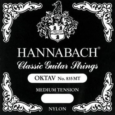 Hannabach guitare Octave 835MT medium tension