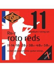 Rotosound Roto Reds 7 cordes R11-7 medium
