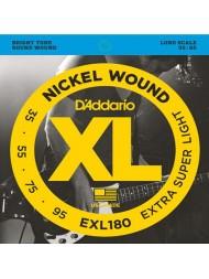 D'Addario EXL180 Tension extra super light