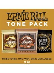Ernie Ball Tone Pack 3 jeux différents 3314 light