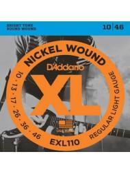 D'Addario EXL110 Tension Regular Light