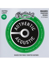 Martin Authentic Marquis Silked 12 cordes MA500S extra light