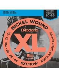 D'Addario EXL110W Tension regular light