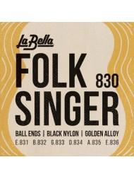 La Bella Folk Singer 830 tension normale