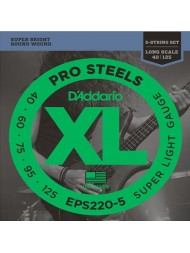 D'Addario EPS220-5 Tension Super light