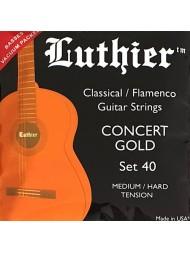 Luthier Concert Gold Bronze LU-40 medium / hard tension