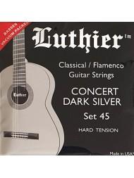 Luthier Concert Dark Silver LU-45 hard tension