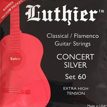Luthier Concert Silver LU-60 extra high tension