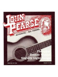 John Pearse Acoustic 550SL slightly light
